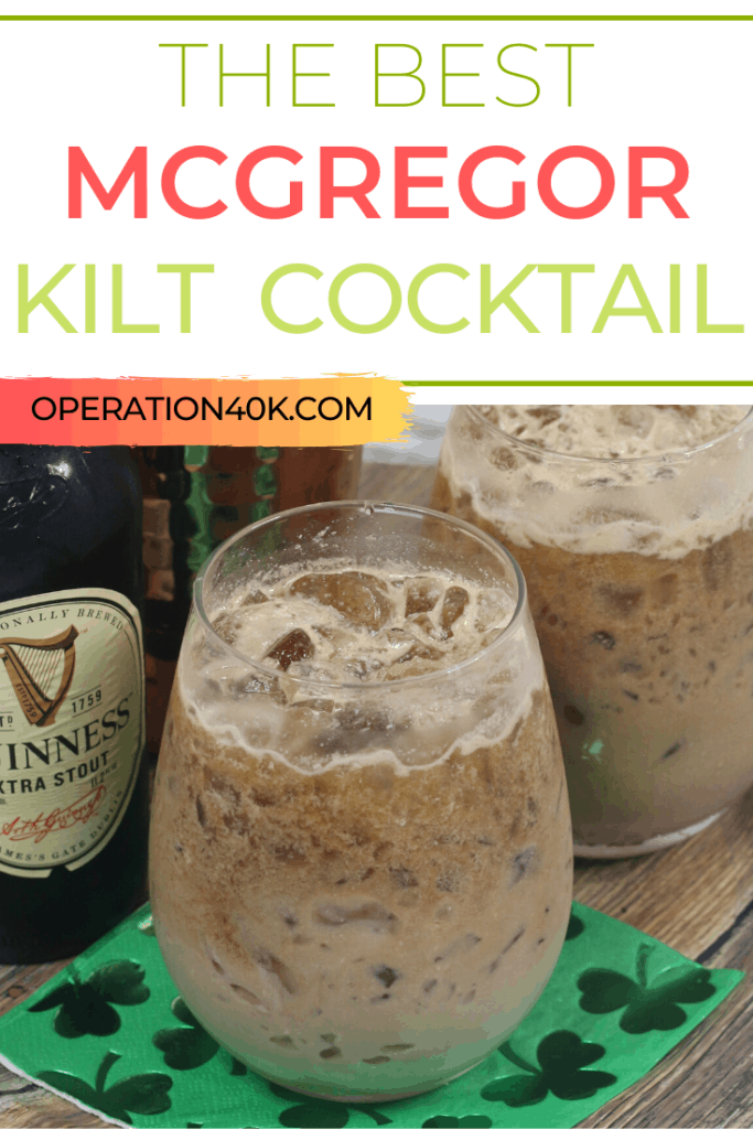 McGregor Kilt Cocktail Will Bring Out the Irish in You