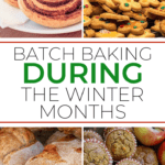 Batch Baking For the Winter Months #baking #savemoney #savetime #OMAC