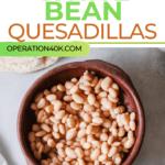 White Bean Quesadillas article cover image