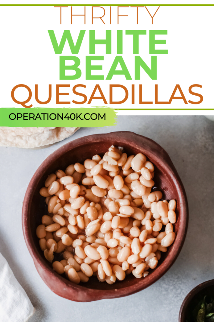 White Bean Quesadillas Are Budget-Friendly