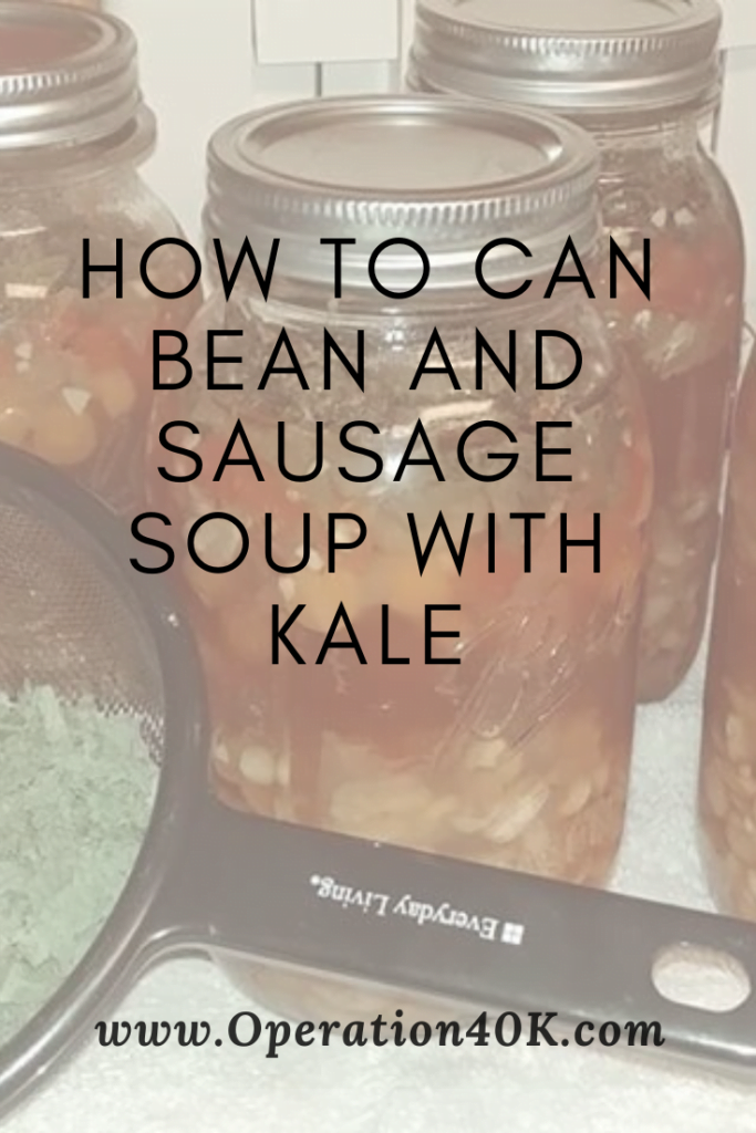 Canned Bean and Sausage Soup
