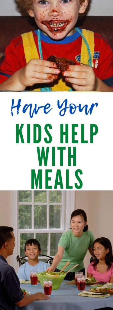 Have Your Kids Help With Meals