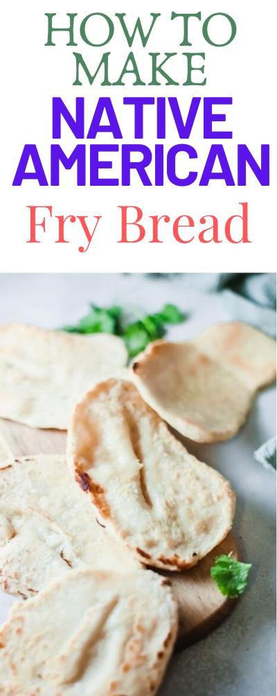 Native American Fry Bread Recipe