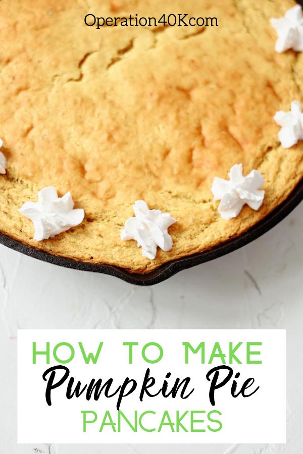 The Best Healthy Pumpkin Spice Pancake Recipe Ever