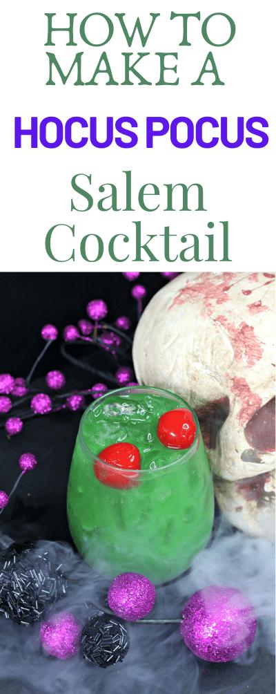 Hocus Pocus Salem Cocktail is Ambrosian Practical Magic