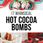 Hot Cocoa Bombs article cover image collage
