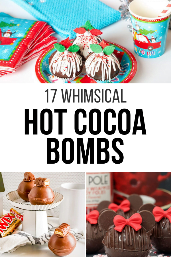 17 Whimsical Hot Cocoa Bombs To Try