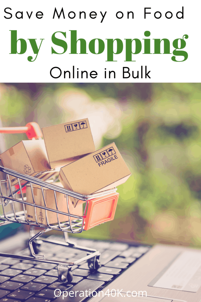 Save Money on Food by Shopping Online in Bulk