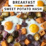 killer sweet Potatoes Hash on a sheet pan article cover image