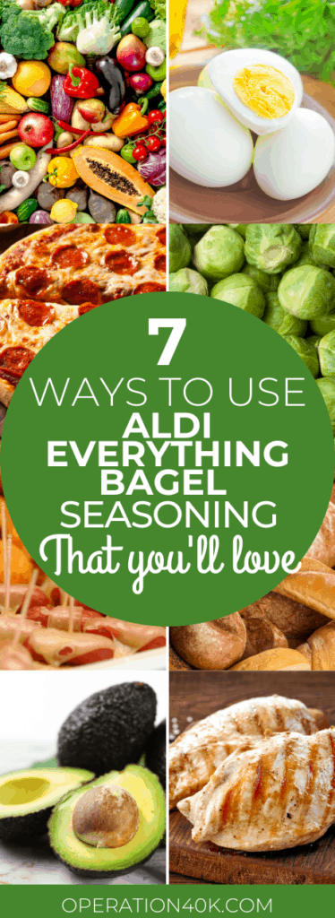 7 Ways to Use Aldi Everything Bagel Seasoning