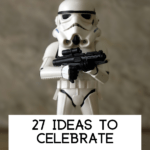 celebrate Star Wars Day with a storm trooper
