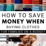 https://operation40k.com/61-ultimate-money-saving-tips-list/ man and child shopping together