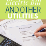How to Save Money on Electric Bill and Other Utilities