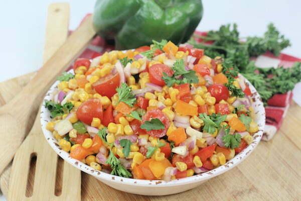 How to Make Cajun Corn Salad
