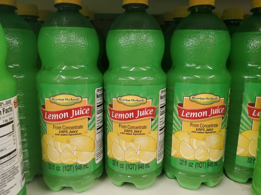 coupons for lemon juice